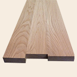 Square-edged sawn timber